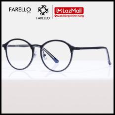 Mắt kính cận nam nữ Arian thương hiệu FARELLO thiết kế mắt tròn phù hợp với nhiều khuôn mặt, đa dạng màu sắc – 98382