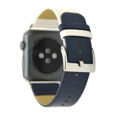 dây đồng hồ Apple Watch, dây da Apple Watch mẫu 03 da trơn trẻ trung