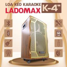 Loa kéo Karaoke K-TP413B Loa thùng âm thanh chuẩn tiện dụng nhiều chức năng BH 12 tháng