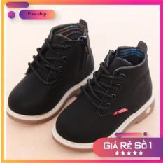 Giày bốt cho bé trai và bé gái phong cách Hàn Quốc mã D88