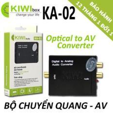 BỘ CHUYỂN ĐỔI ÂM THANH DIGITAL( Quang optical ) SANG ANALOG ( audio AV ) KIWI KA-02