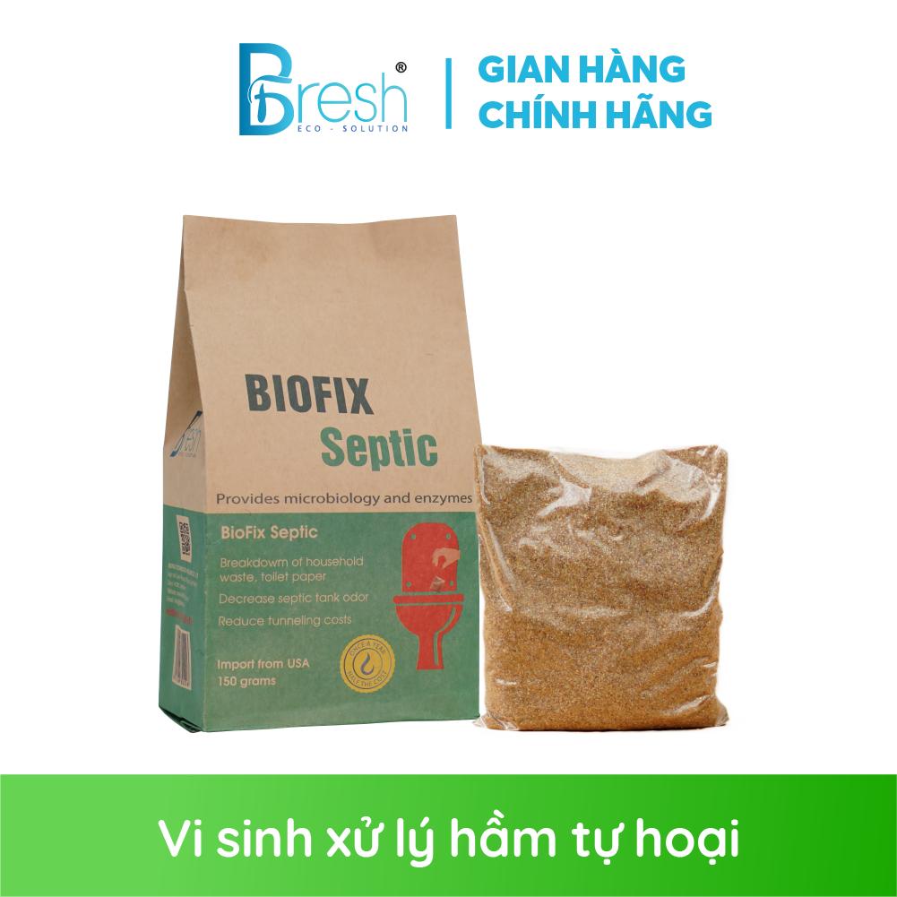 Men vi sinh xử lý bồn cầu, hầm tự hoại – BioFix Septic gói 150 gram