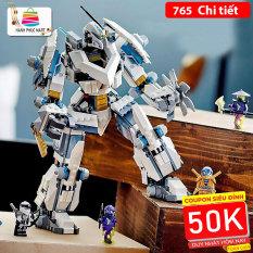 [HCM]Đồ chơi lắp ráp Kiểu Lego Robot Supper Ninja với 765 Chi tiết nhựa ABS Cao cấp