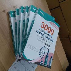 Sách 3000 Câu Ngữ Pháp Và Từ Vựng Hay Sai ( Tặng kèm Tài Khoản tra ID đáp án chi tiết )