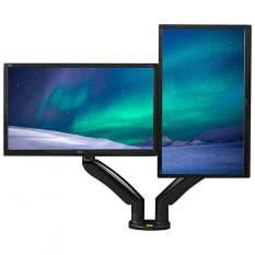 Giá treo hai màn hình máy tính NB – F195A (22-32 inch) tích hợp 2 cổng USB 3.0 Hàng Nhập Khẩu