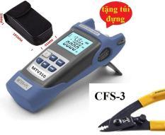 Máy đo công suất Quang MTV310 tích hợp Bút soi Quang 5Km+Tặng kìm tuốt quang CFS-3