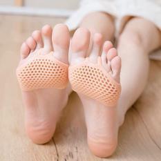 Miếng Lót bảo vệ ngón chân cái silicon cho các bạn nữ mang cao gót( 1 đôi)