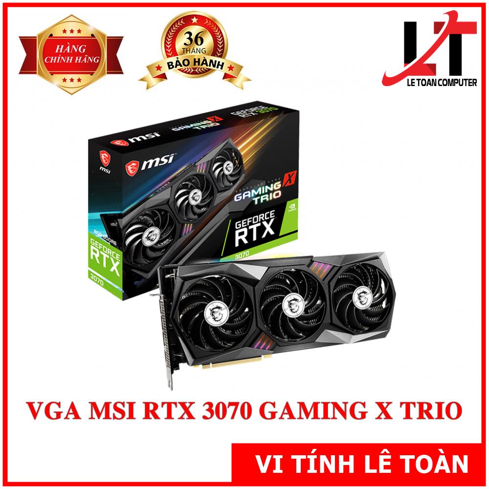 VGA MSI RTX 3070 GAMING X TRIO 8GB CHÍNH HÃNG