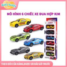 [Combo 6 siêu tiết kiệm] Xe đua đồ chơi, xe hơi đồ chơi mini cho trẻ phát triển trí thông minh, xe đua tốc độ cho bé trai và bé gái, xe đua trẻ em chống va đập, toy car gift set, racing car for kids, bộ xe đua đồ chơi nhiều món