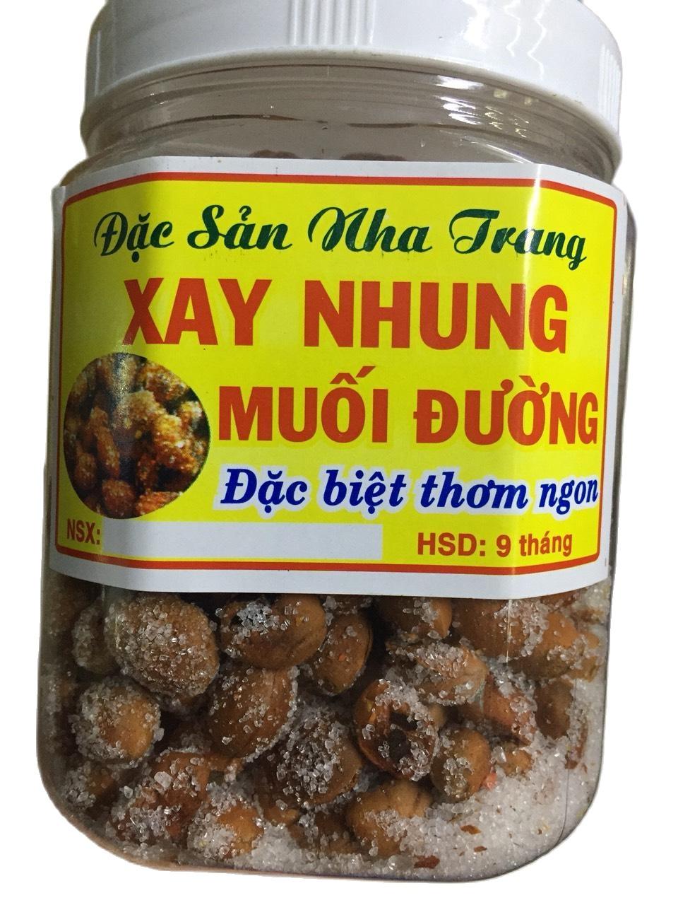 [ Hũ 300Gram ] Xay Nhung Muối Đường – say nhung muối đường