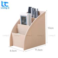 Khay đựng bút để bàn Living C G48 , kệ đựng mỹ phẩm remote đa năng để bàn