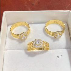 Nhẫn kim tiền vàng sang trọng 18k Sadoshop VN06071907