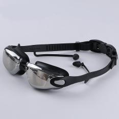 Kính bơi thời trang cao cấp tráng GƯƠNG chống tia UV chống hấp hơi SKB101