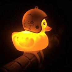 [ Cực đẹp ] Vịt vàng có đèn, còi, nón bảo hiểm xinh xinh cute, cực đáng yêu