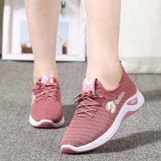 Giày thể thao nữ buộc dây thiết kế thời trang thông thoáng khi hoạt động đi bộ, tập gym , đi chơi