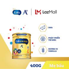 Sữa bột Enfamama 360° Brain Plus cho mẹ mang thai và cho con bú – Vị Vanilla 400g – Cam kết HSD còn ít nhất 10 tháng