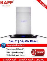 Máy hút khói khử mùi kính cong 90cm Kaff KF GB029, máy hút mùi, máy hút khói, máy hút mùi nhà bếp