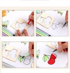 Bộ thẻ vẽ hình cho bé (24 thẻ) nhiều hình dễ thương cho bé vui chơi