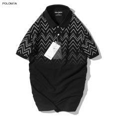 Áo Polo nam phối cổ bẻ RITI vải cá sấu Cotton xuất xịn,chuẩn form trẻ trung, thanh lịch – POLOMAN