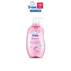 Tắm gội toàn thân em bé (<3 tuổi) D-nee 380 ML – Sakura
