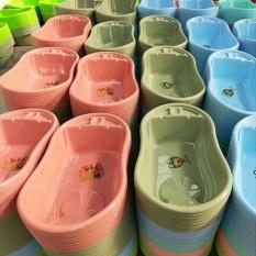 Bồn tắm Thau tắm em bé có thể ngồi nhiều màu