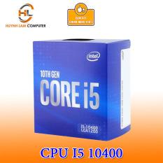 CPU Intel Core i5 10400 2.9GHz 6 nhân 12 luồng, 12MB Cache, 65W Socket Intel LGA 1200