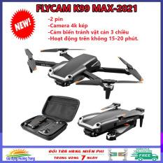 [MẪU MỚI] Flycam, máy bay điều khiển có camera k99 Max- 2021, flycam mini điều khiển từ xa, camera 4k/1080p, pin 3.7v/1800mAh, công nghệ 2.4G, tích hợp giữ độ cao chụp ảnh, quay video với mọi tư thế.