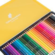 DELI – Hội họa màu vẽ học sinh tô màu – Hộp bút chì màu cao cấp EC00205/EC00225/EC00235 12/24/36 màu