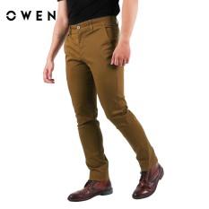 OWEN – Quần khaki Cotton Slimfit màu Nâu QK18270-BR