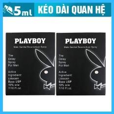 Combo 2 chai xịt hỗ trợ chống xuất tinh sớm PlayBoy