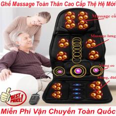 Nệm Massage Toàn Thân – Ghế Massage Toàn Thân Cao Cấp Thệ Hệ Mới Massage Thư Giãn Ngay Tại Nhà – Đệm Massage Xung Điện Toàn Thân Dùng Cho Ghế Văn Phòng Và Trên Oto Có Thể Vừa Làm Việc Vừa Thư Giãn- Bảo hành 1 ĐỔI 1