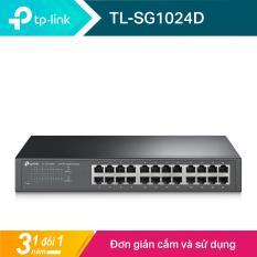 TP-Link Switch Gigabit 24 cổng 10/100/1000Mbps Gắn tủ/ Để bàn -TL-SG1024D – Hãng phân phối chính thức