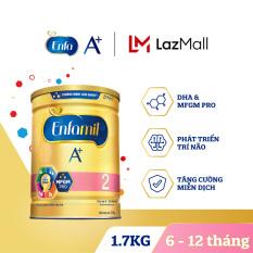 Sữa bột Enfamil A+ 2 cho trẻ từ 6-12 tháng tuổi (1.7kg)