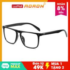 Kính giả cận nam, gọng kính cận văn phòng, kính chống cận thị mẫu mới nhất 2021 mắt kính không độ có thể thay thế gọng nhựa AK031 – Aoron