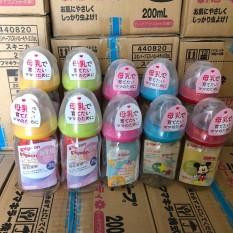 [ Chính Hãng ] Bình sữa Pigeon cổ rộng nội địa Nhật 160ml
