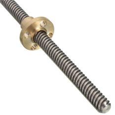 Combo đai ốc T8+vitme T8 bước 8mm, dài 300/350/400mm