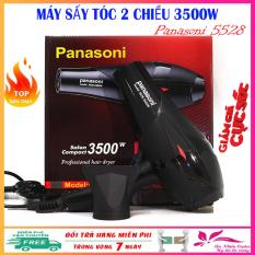 Máy sấy tóc công suất lớn Panasoni 5528, may say toc 2 chiều công suất 3500W có ánh sáng xanh kháng khuẩn – Bảo hành 1 năm