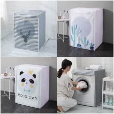 Bọc trùm máy giặt cửa ngang,cửa trên máy dưới 8kg PEVA chống thấm, che phủ máy giặt hàng đẹp