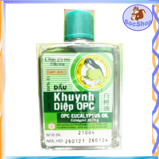 Babyshop-SOC2012 Dầu khuynh diệp OPC bào chế với các loại tinh dầu thiên nhiên ( vĩ 1 chai 25ml)