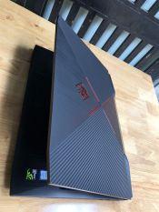 Laptop Gaming Hp Omen 15, i7 7700HQ, 8G, 128G + 1T, GTX 1050Ti, zin 100%, giá rẻ