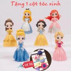 Đồ chơi búp bê tháy váy/ set 6 công chúa thay váy siêu kute
