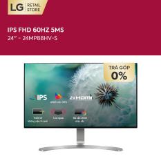 [GOT IT 100K – VOUCHER 200K] Màn hình máy tính LG IPS FHD (1920 x 1080) 60Hz 5ms 24 inches l 24MP88HV-S   HÀNG CHÍNH HÃNG
