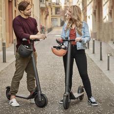 Xe scooter điện Ninebot E22 gấp gọn công suất lớn có bluetooth, đèn led, kết nối qua add