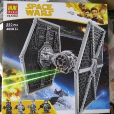 Bộ Xếp Hình Bela 10900 – Lắp Ráp Phi Thuyền TIE FIGHTER Trong Star Wars Với 550 Chi Tiết