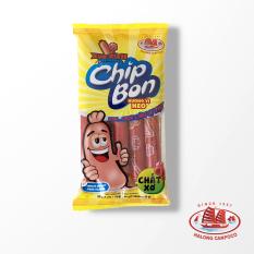 Xúc xích tiệt trùng Chipbon heo Hạ Long – 18g x 5 cây/túi, hương vị thơm ngon, dây chuyền công nghệ hiện đại, đảm bảo an toàn vệ sinh thực phẩm