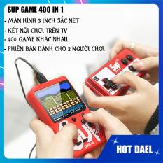 Máy chơi game cầm tay mini Sup 2 người chơi chứa 400 game kinh điển cực kì Thú Vị và thuyết phục