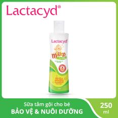 Sữa tắm gội trẻ em Lactacyd Milky 250ml