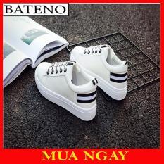 Giày Thể Thao Kẻ Sọc KS1 Phong Cách Cho Nữ