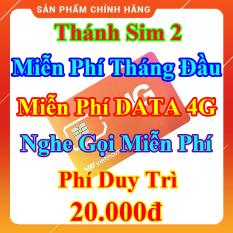 Thánh Sim 2 – Miễn Phí DATA 4G – Miễn Phí Tháng Đầu – Nghe Gọi Miễn Phí Nội Mạng – Phí Duy Trì 20.000đ – Shop Lotus Sim Giá Rẻ