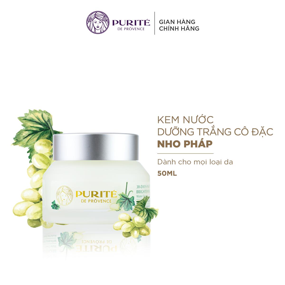 Kem Nước Dưỡng Trắng Cô Đặc Purité 30-day Natural Brightening Water Cream 50ml